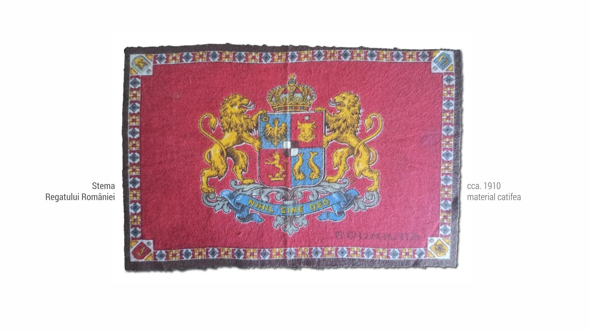 1801 Stema Regatului - 1910
