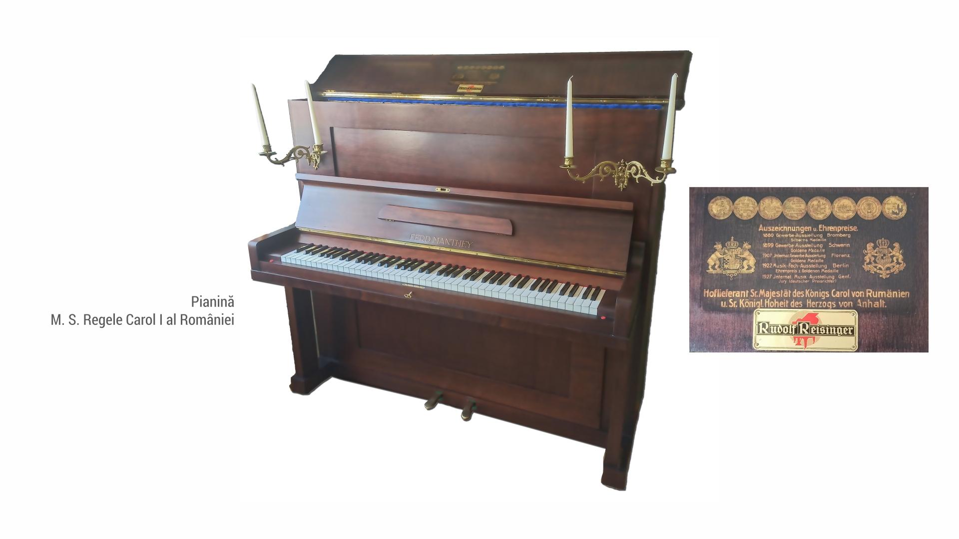 1802 Pianina - regele Carol