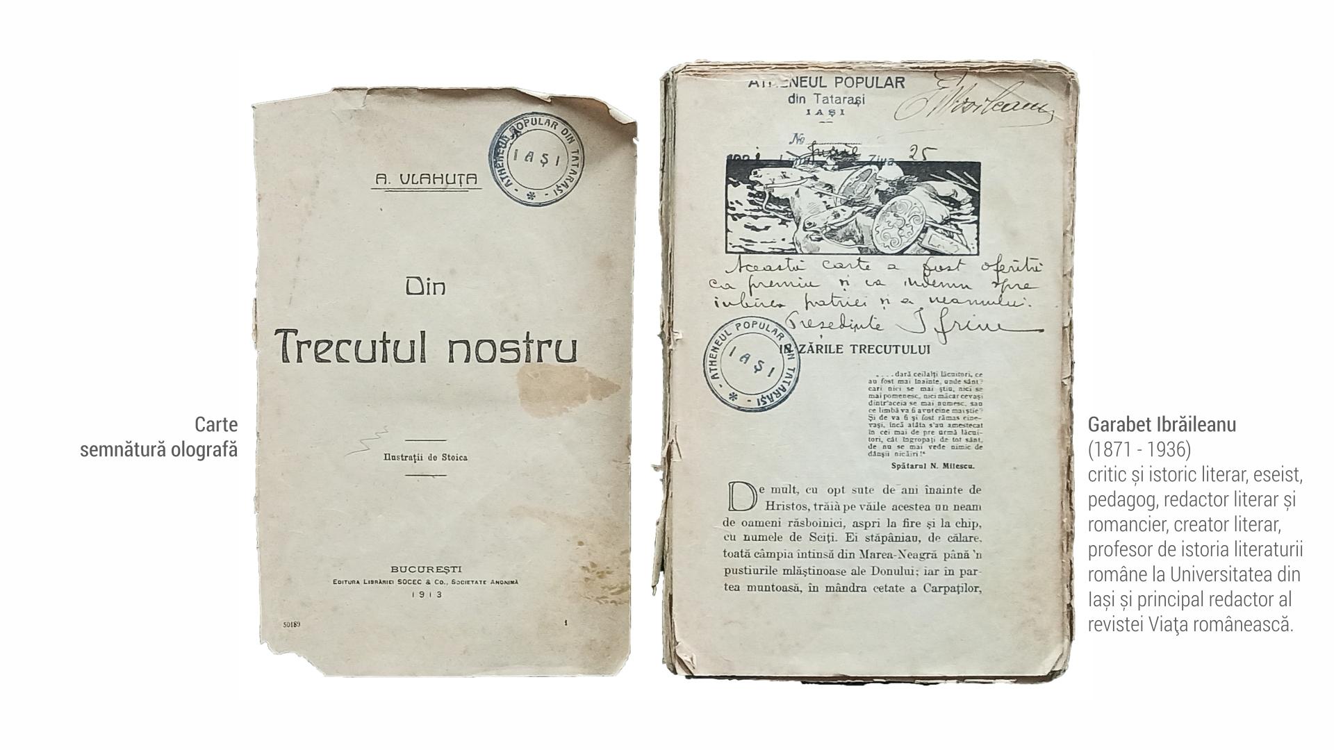 1871 Garabet Ibraileanu - carte