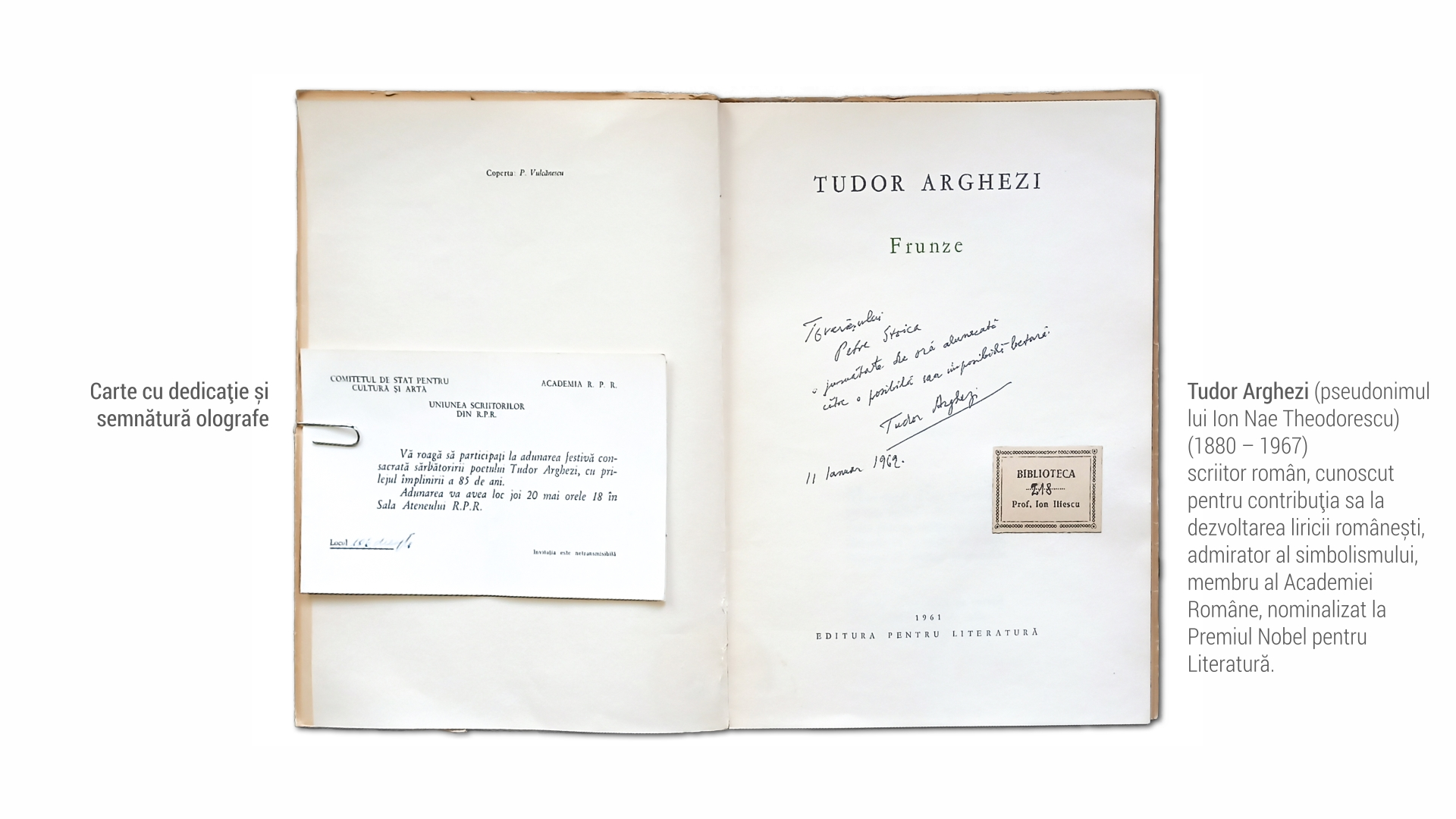 1880 Tudor Arghezi - carte