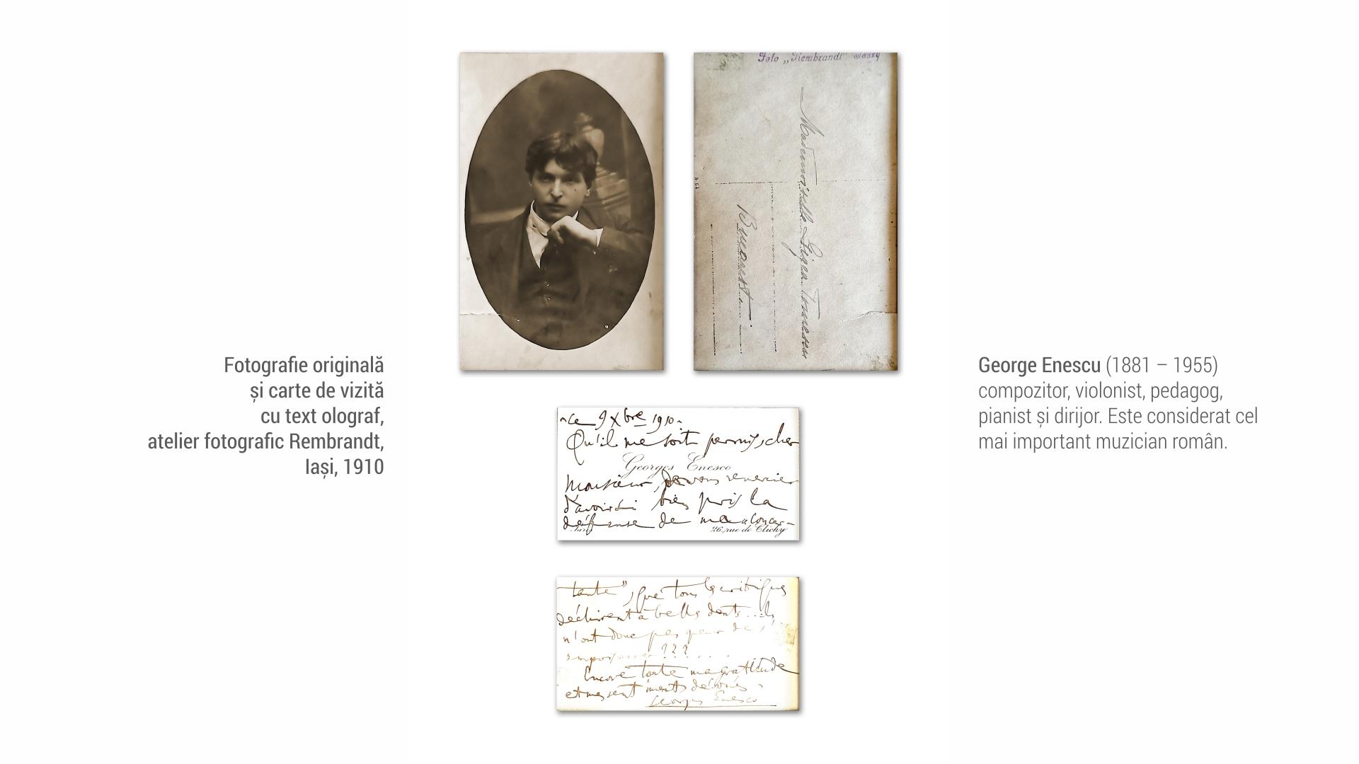 1881 George Enescu - foto