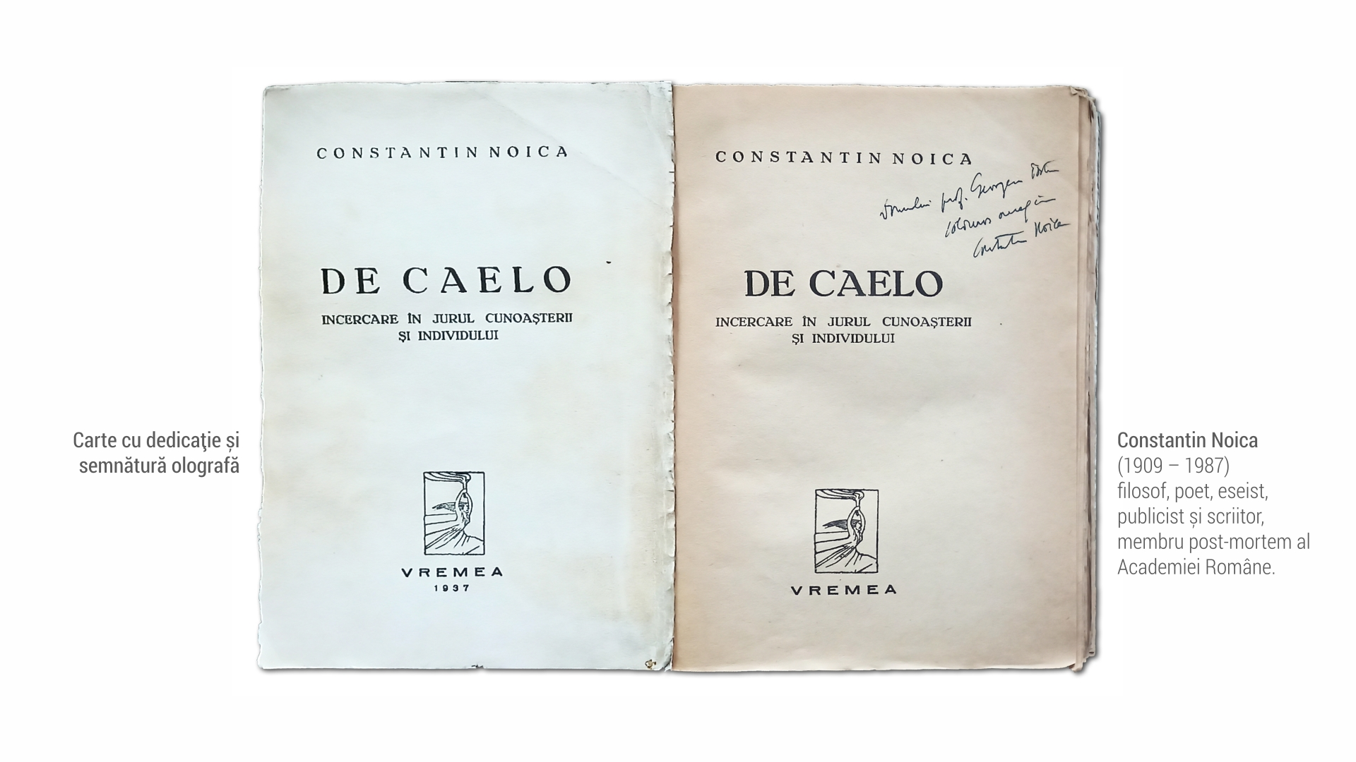 1909 Constantin Noica - carte