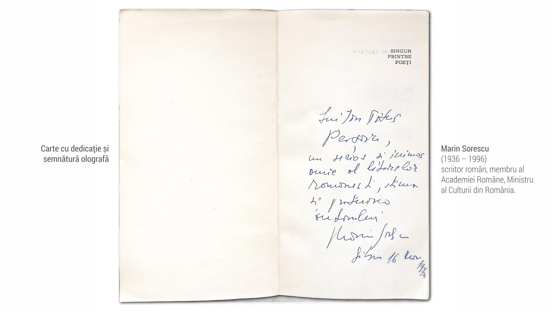1936 Marin Sorescu - carte