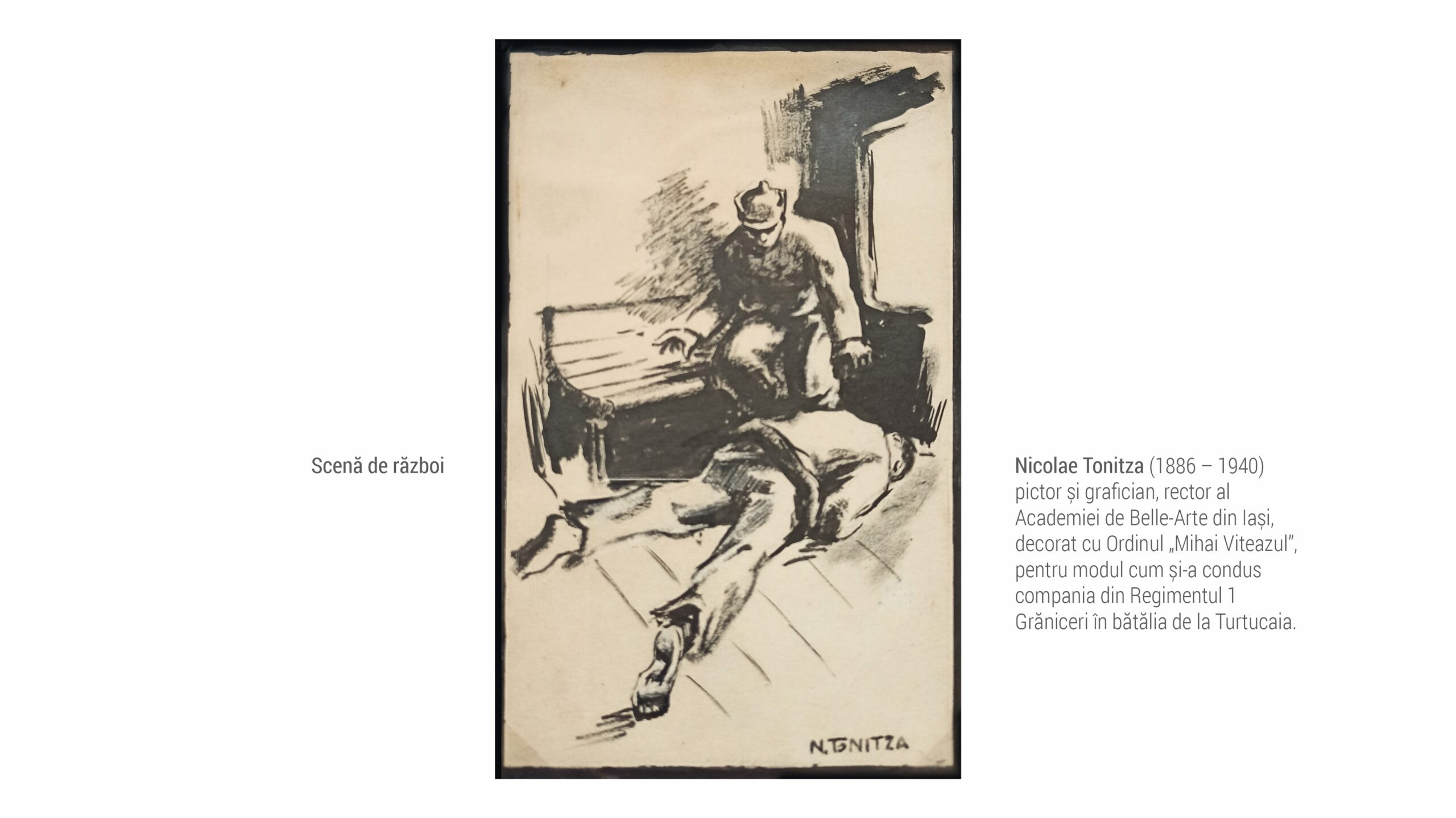 1886 NIcolae Tonitza - scena de razboi